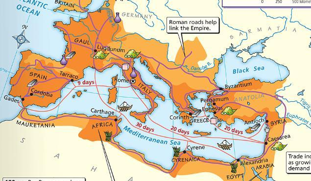 Rome s Internal Problems MILITARY Germanic tribes from