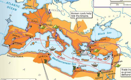 The Roman Empire Under Augustus, Rome entered an era of