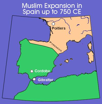 Conquered by Arab and Berber forces in the early 700s Early Muslim Spain: Vibrant civilization Astronomy, medicine, the arts,