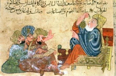 Founded by the caliph al- Mamun Was a research center in Baghdad Scholars