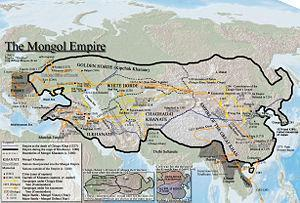 enter the Middle East 1216 the Mongols swarm out of Central Asia Seljuk
