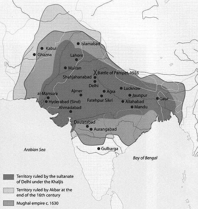 India s Muslim Empires 550 the Gupta Empire falls; Hindu and Buddhist rulers Trade networks link India, China,