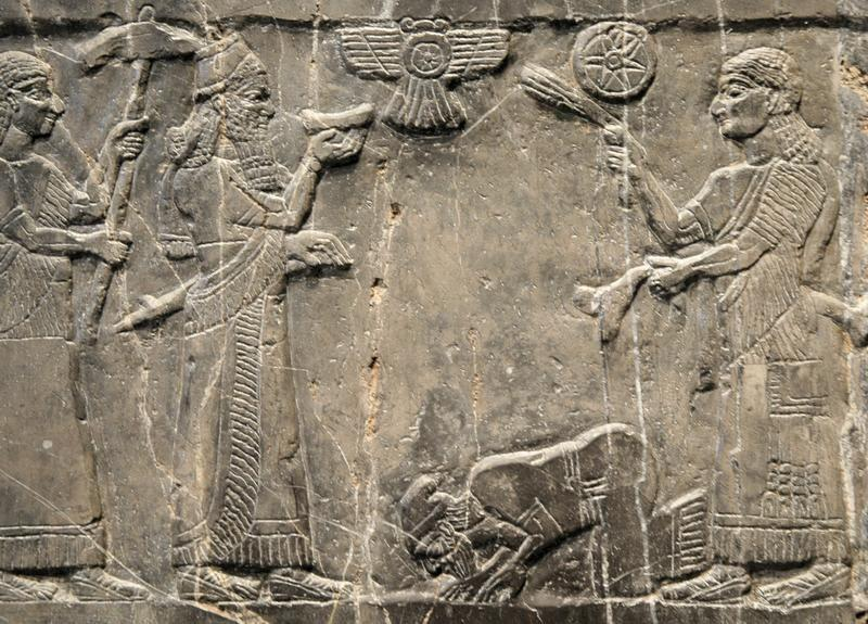 The Assyrians Assyrian relief showing