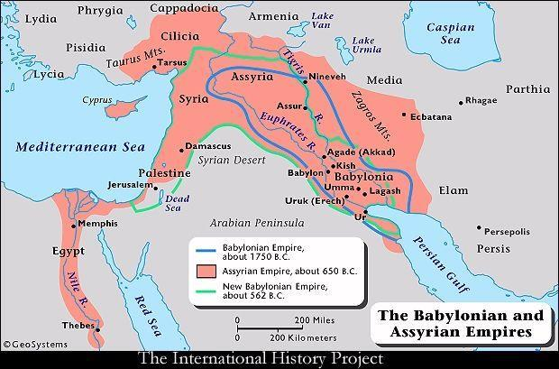 The Assyrians The