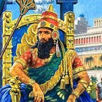 Babylonian King, Nebuchadnezzar destroyed Jerusalem. He forced many Israelites into exile in Babylon.