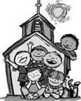 The program is designed for children ages 3 to Kindergarten and includes: music, crafts, activities and faith lessons.