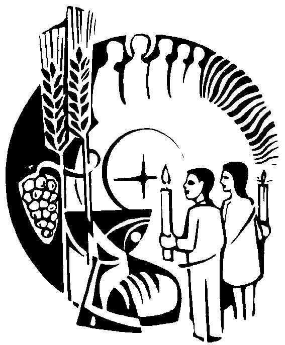 CELEBRATING THE GIFT OF THE EUCHARIST Whoever eats My flesh and drinks My blood will live in Me and I in them, says the Lord.