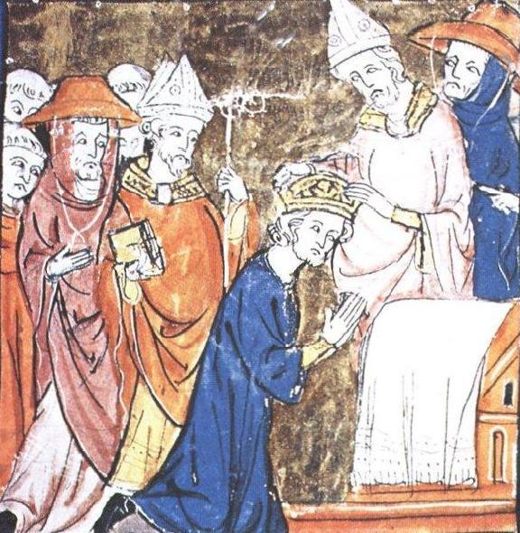 Charlemagne Charles the Great In return, the grateful Pope crowned Charlemagne the head of the HOLY ROMAN EMPIRE on Christmas Day,