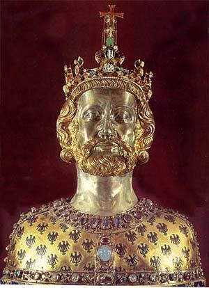 Holy Roman Empire Charlemagne never really attained the economic and social organization of a civilized state before his