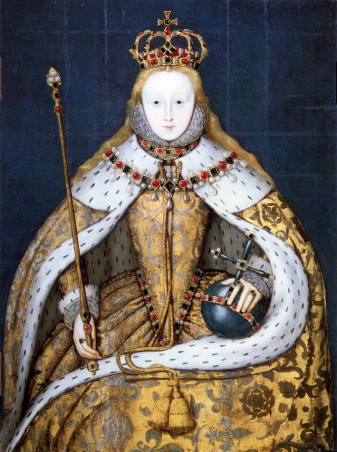 Elizabeth I After Mary s death, Elizabeth I became Queen One of the greatest monarchs in England s
