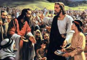 Multiplying God s Gifts ~ Christ first challenged the Disciples to feed the people ( you give them something to eat ) ~ Christ said bring what you have to me and I will multiply it ( Bring them here