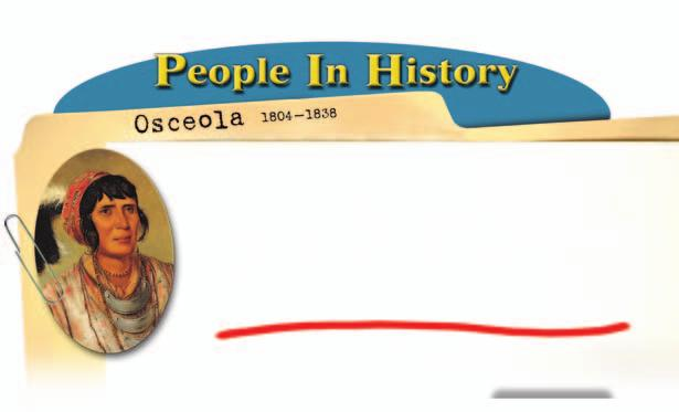 Osceola was born in 1804. His ancestors were Creek, African American, British, Irish, and Scottish.