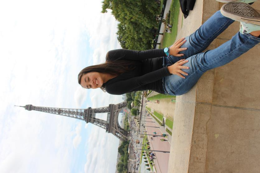 Mia Porter BBA, Finance J Whitlow Scholarship Recipient IESEG, Paris, France Fall 2014 Hi, I m Mia Porter and I studied abroad in Paris, France for the fall semester of my sophomore year.