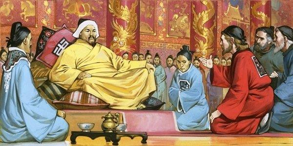 After all, I, Kublai Khan, am a foreigner from
