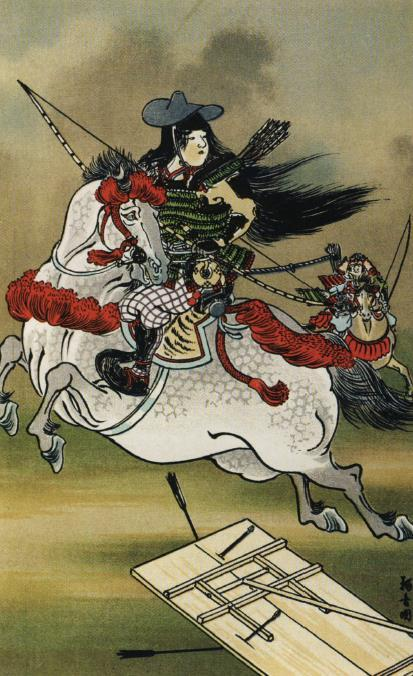 Yes, girls can be samurai, too! Some women, like Tomoe Gozen, did take part in battles alongside men.