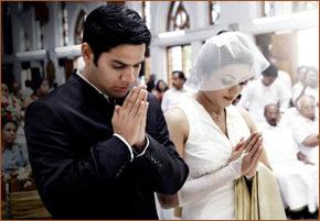 Eucharistic Prayer III: Strengthen, we pray, in the grace of Marriage whom you have brought happily to their wedding day,