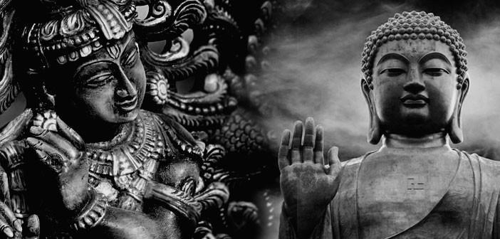 Views of Religion Buddhism: They deny the existence of a God or gods. Buddhism is not a religion, but the teachings of the Buddha. Buddhism sees no difference in following more than one religion.