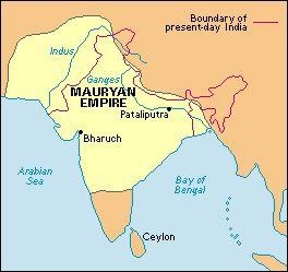 Mauryan Empire The Mauryas: Indian dynasty in the fourth-third centuries BCE unified the