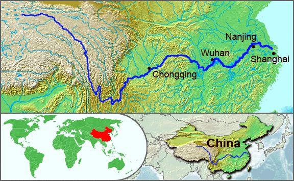 Ancient China Early societies in China developed along the Yangtze and Huang He (Yellow River) It is the 2nd longest river in