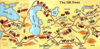 Silk Roads examples of this include: Buddhism spread from India to China Christianity spread to the east New