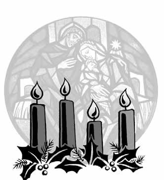 "The Season of Advent FOURTH SUNDAY OF ADVENT SCRIPTURE: Luke 1:47-55 (Reader) ""My soul magnifies the Lord, and my spirit rejoices in God my Savior, for he has looked with favor on the lowliness of"