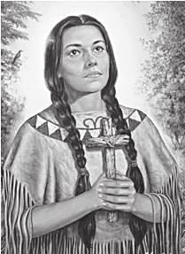 July 14 St. Kateri Tekakwitha Virgin (16561680) The blood of martyrs is the seed of saints.