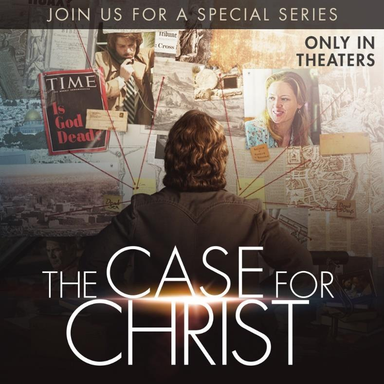 "8 The Case For Christ Lenten Study with Pastor Mark Introducing Life Groups You are invited to join the upcoming six-week study of ""The Case for Christ"" led by Pastor Mark."