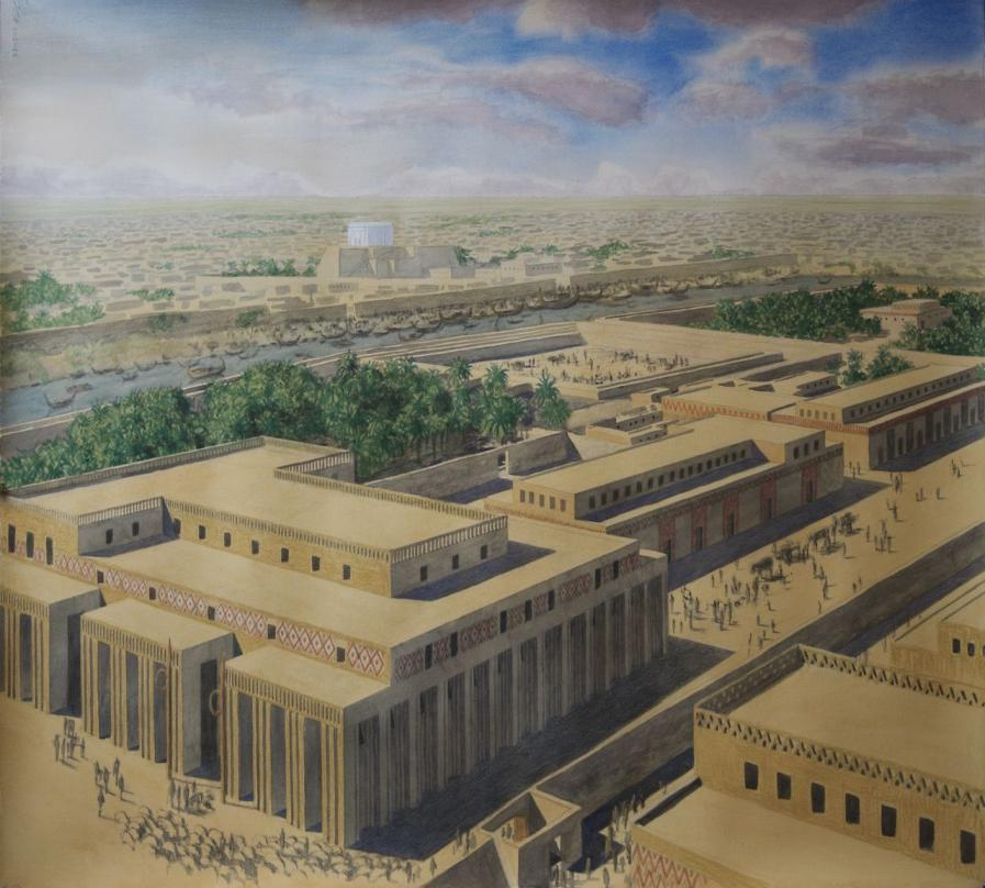 Sumerian Cities Sumerian cities like Uruk, were surrounded by walls as long as 10 km with defense towers every 10 meters.