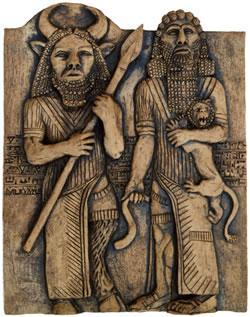Writing and Literature One of the earliest surviving works of Sumerian literature is the Epic of Gilgamesh. It tells the tale of the adventures the Uruk King, Gilgamesh and his friend Enkidu.