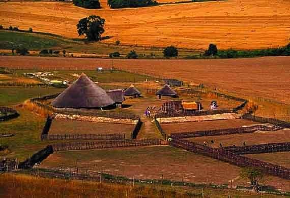 The Neolithic or agricultural revolution (6,000 B.C.E.