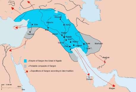 2. The Akkadian Empire lasted about 200 years, 2350 approx. 2150 B.C.E. PP Design of T.