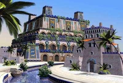 One of the 7 Wonders of the Ancient World The Hanging Gardens of Babylon What did they look like?