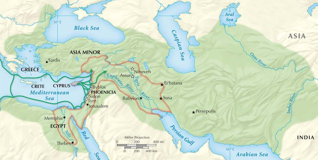 Section 2 The Persian Empire under Emperor