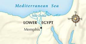Section 3 Ancient Egypt was divided geographically into two parts: Upper Egypt