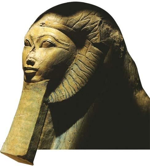 Section 3 Egypt s first female ruler, Hatshepsut, held power for her young step-son from about 1472 B.C. to 1458 B.C. He succeeded her, ruling as Thutmose III.