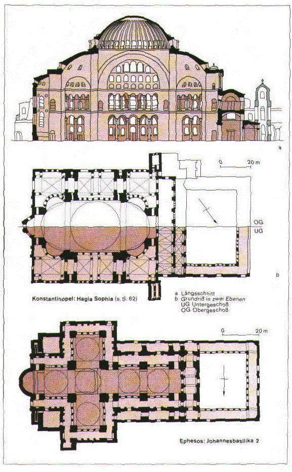architecture, Justinian
