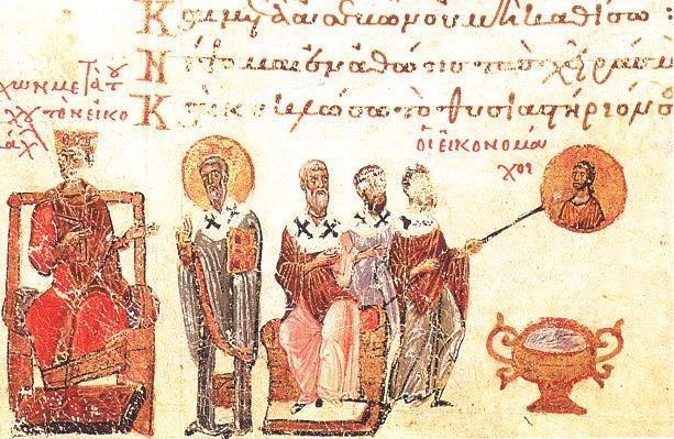 Emperor Leo III ordered the destruction of icons in the Byzantine Empire Riots broke out between people who wanted icons & iconoclasts (those who wanted to ban icons) The