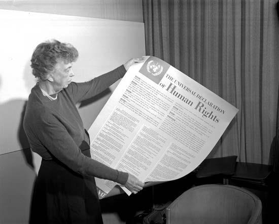 Universal Declaration of Human Rights 1948 set human rights