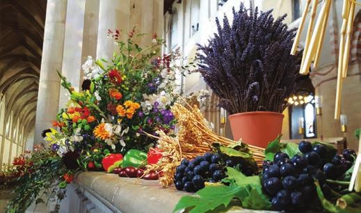 Special Services For Christmas Services see pages 12-15. Harvest Festival Date: Sunday 1st October Time: 9.
