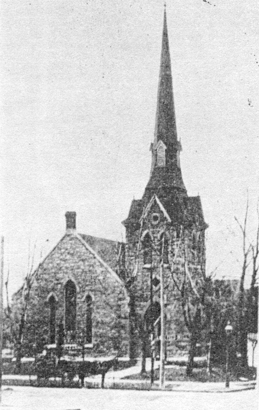It would be 22 years (1910) before the cornerstone was laid for the Cathedral proper and another seven before construction was complete (minus the towers) and the dedication service held.