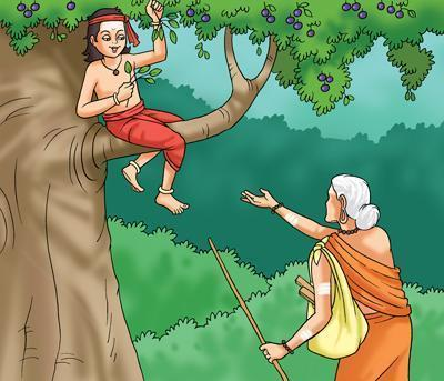 Avvaiyar was astonished, how a small village cowboy had played such an intelligent drama!