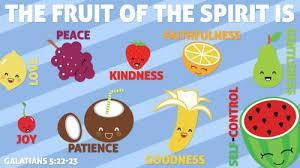 The Apostle Paul wrote, But the fruit of the Spirit is love, joy, peace, longsuffering, kindness, goodness, faithfulness,