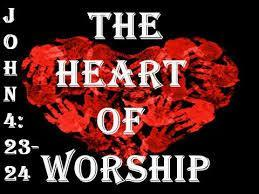 (John 4:23-24) Worship helps us to connect with the heart of God King David who was a man after God s own heart wrote, I will praise You,