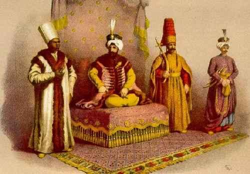 Ottoman rulers, supreme rulers, are called