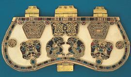 Left - purse cover, from Sutton Hoo, 7