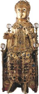 Reliquary statue of Sainte Foy, Late 10 th -