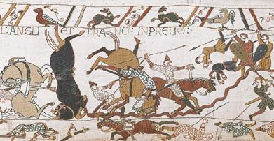 Detail of Bayeaux Tapestry,