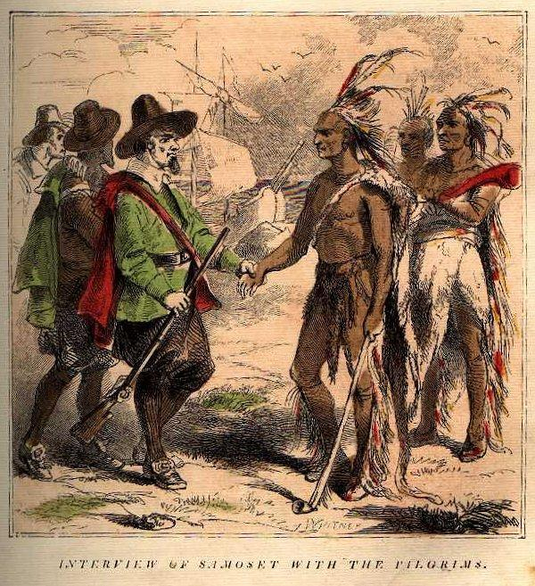 Samoset and Squanto were Native Americans who