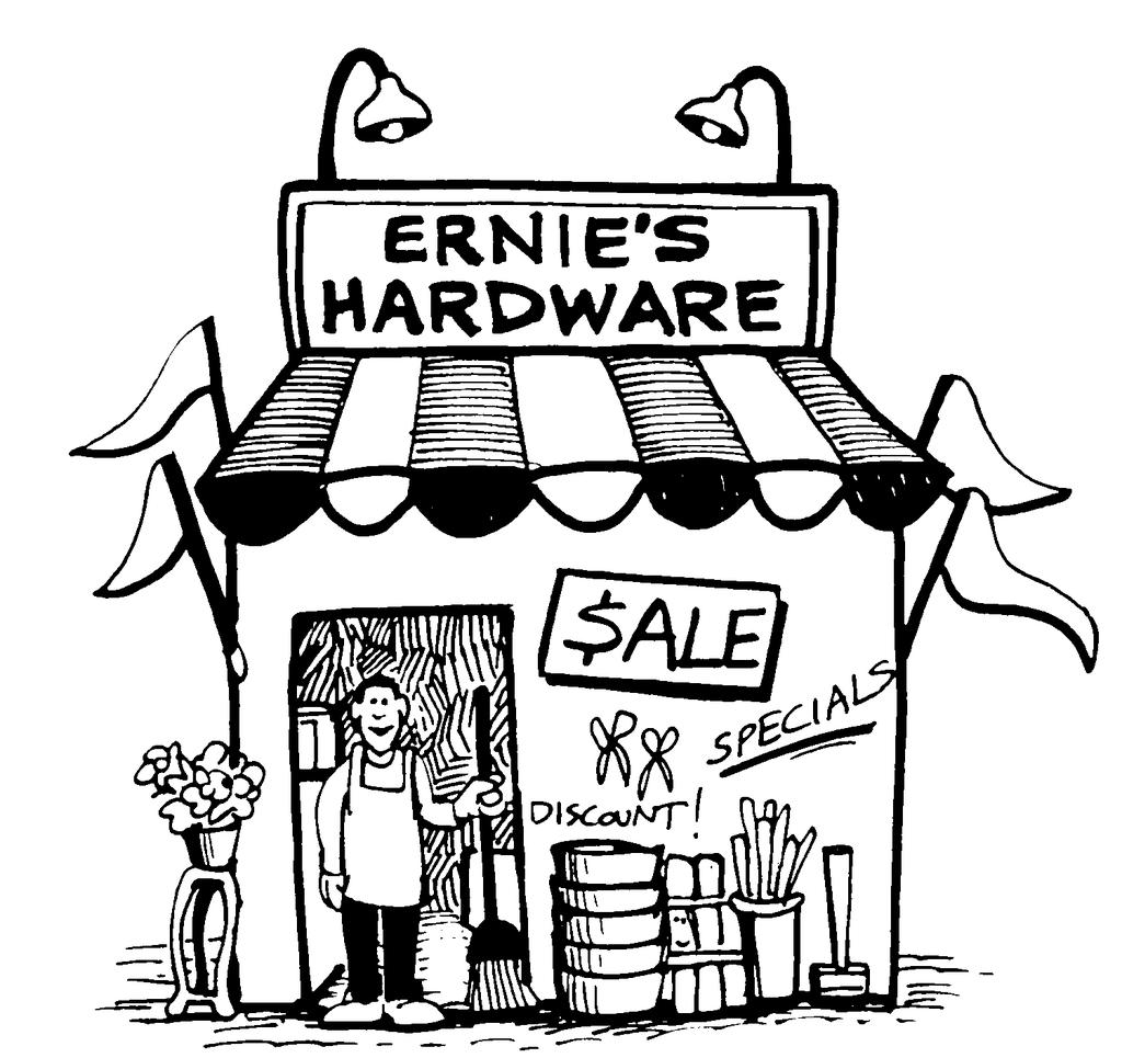 Student Handout 15A.3 Ernie owns this store. He buys merchandise from several large corporations and then decides what the price will be when he resells it to his customers.