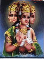 creator god Vishnu, the